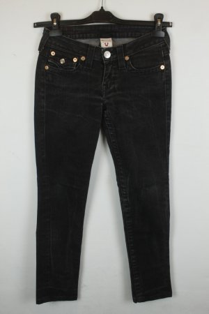True Religion Slim Fit Jeans Gr 25 black denim | Modell: Julie