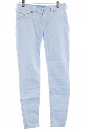 True Religion Slim Jeans babyblau Casual-Look