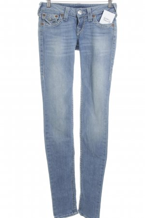 True Religion Slim Jeans blassblau Casual-Look