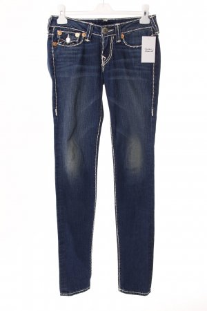 True Religion Slim Jeans blau