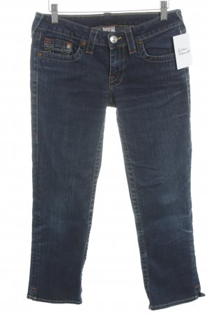 True Religion Slim Jeans blau Casual-Look