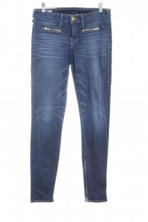 True Religion Slim Jeans dunkelblau-blau Casual-Look