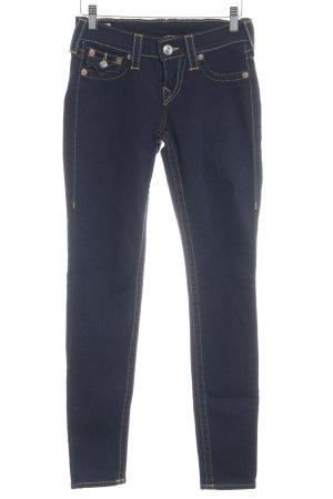 True Religion Jeans slim fit blu scuro stile casual