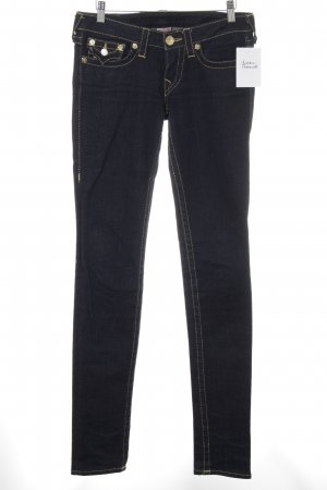 True Religion Slim Jeans dunkelblau Casual-Look