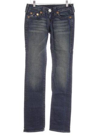 True Religion Slim Jeans dunkelblau Casual-Look
