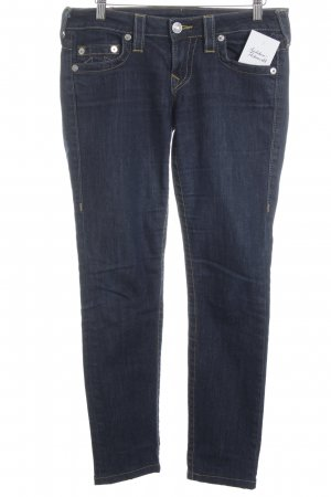True Religion Slim Jeans graublau Casual-Look