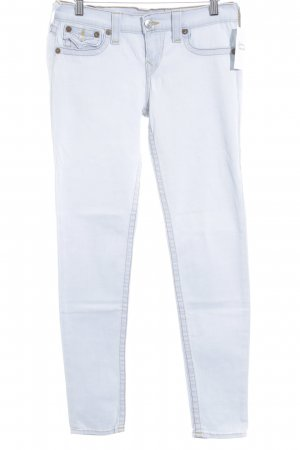 True Religion Slim Jeans hellblau Casual-Look
