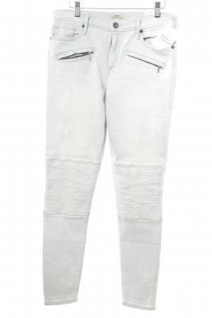 True Religion Slim Jeans himmelblau Casual-Look