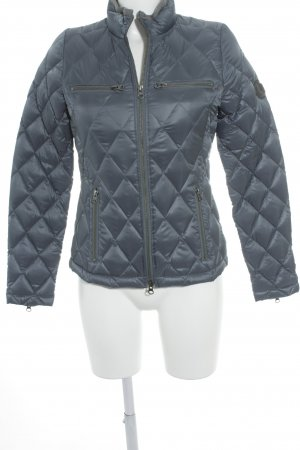 True Religion Steppjacke stahlblau Casual-Look