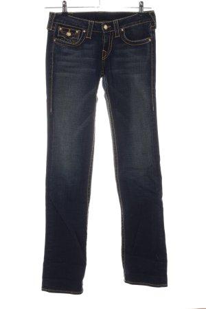 True Religion Jeans met rechte pijpen blauw casual uitstraling