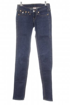 True Religion Straight-Leg Jeans dunkelblau Casual-Look