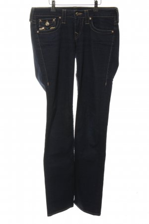 "True Religion Straight-Leg Jeans ""Billy"" schwarz"