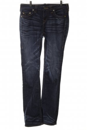 "True Religion Straight-Leg Jeans ""Avery"" blau"