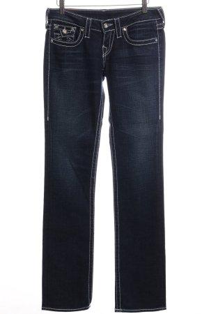 """True Religion Jeans met rechte pijpen """"Disco Billy Big T"""" blauw"""