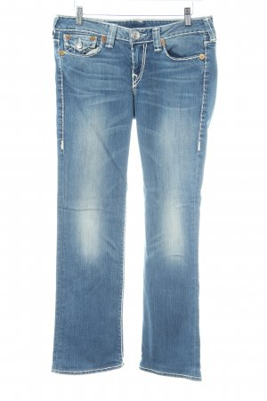 True Religion Straight-Leg Jeans Farbverlauf Casual-Look