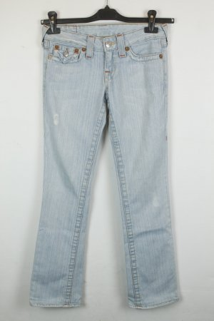 True Religion Straight Leg Jeans Gr. 25 light denim | Modell: Billy
