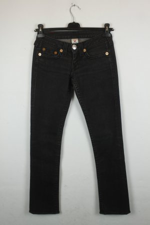 True Religion Straight Leg Jeans Gr 27 black Modell: Johnny Big T