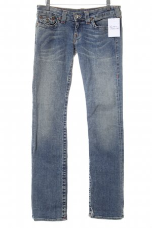 True Religion Straight-Leg Jeans mehrfarbig Casual-Look