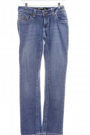 True Religion Straight-Leg Jeans stahlblau Casual-Look