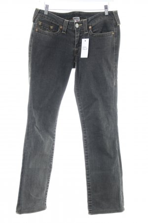 True Religion Straight-Leg Jeans taupe Casual-Look