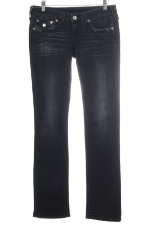True Religion Straight-Leg Jeans taupe Jeans-Optik