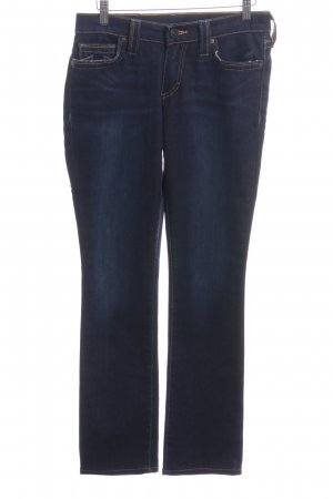 True Religion Jeans elasticizzati blu stile casual