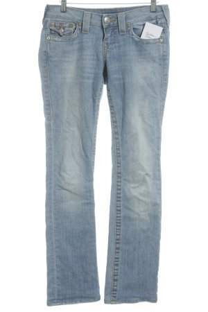 True Religion Stretch Jeans hellblau-blau Casual-Look
