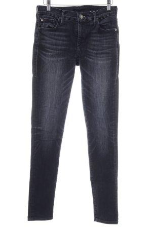 True Religion Stretchhose schwarz-dunkelblau Jeans-Optik