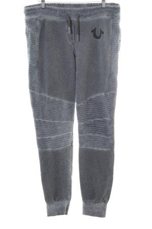 True Religion Pantalón deportivo gris-gris claro look casual