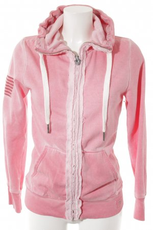 True Religion Sweatjacke pink-rosa Casual-Look