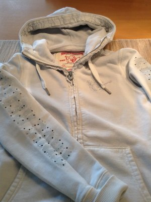 True Religion Sweatshirt Jacke mit Strass Budda Gr. 36