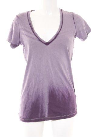 True Religion T-Shirt blasslila-dunkelviolett Farbverlauf Casual-Look