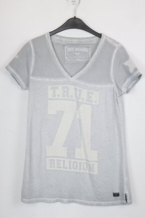 True Religion T-shirt Gr. M hellgrau (18/5/137)