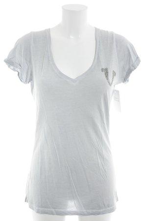 True Religion T-Shirt hellgrau Casual-Look