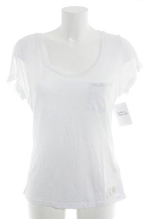 True Religion T-Shirt weiß Casual-Look