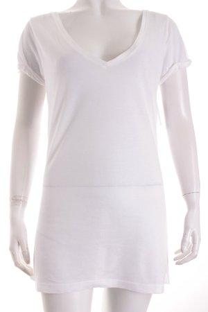 True Religion T-Shirt weiß minimalistischer Stil