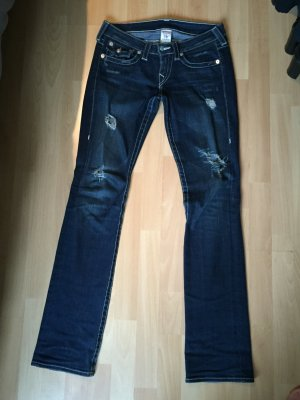 True Religon Jeans used look gerades Bein Gr.27/34