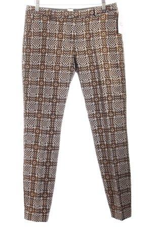 True Royal Pantalon à pinces motif abstrait élégant