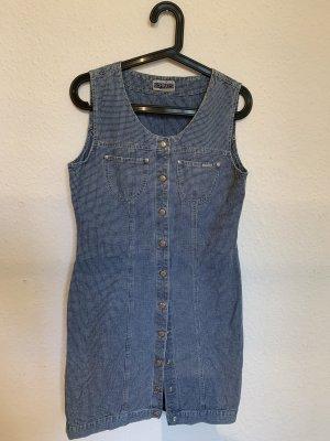 Vintage Jeansjurk veelkleurig Katoen