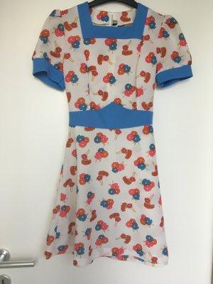 True Vintage 70's Blumenkleid in Größe 36
