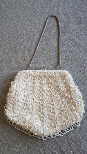 Bolso blanco-crema