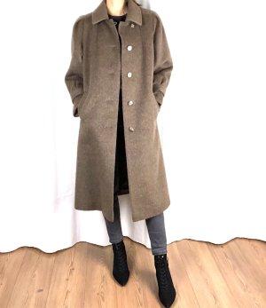 True Vintage Alpaka Mantel Cosy 70ies Clean Chic A-linie