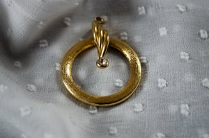 Vintage Pendant gold-colored-silver-colored