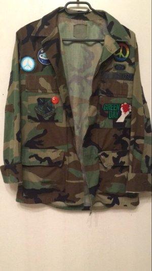 True vintage army Jacke