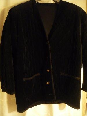Jacket black cotton