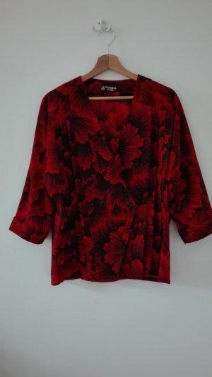 True Vintage Bluse mit außergewöhnlichem Blumenmuster