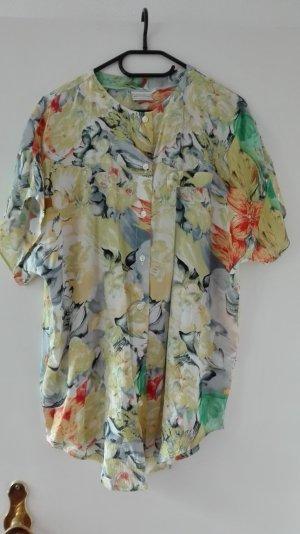 True Vintage Bluse Tunika 40 L bunt