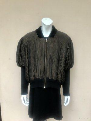 Vintage Bomber Jacket black-ocher acetate