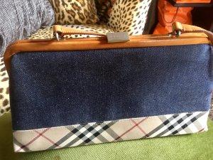 True vintage Burberry Tasche Jeanslook TOP