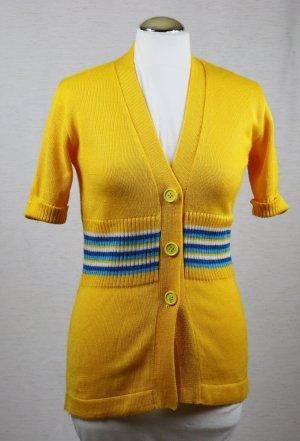 Vintage Cardigan tricotés multicolore